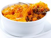 link - Individual Shepherd's Pie with Sweet Potato Topping