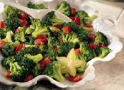 link - Warm Broccoli, Pepper and Smoked Tofu Salad