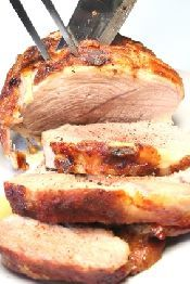 link - Pork in Cider with a Herb and Mushroom Sauce