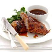 link - Duck with a Sticky Orange Glaze